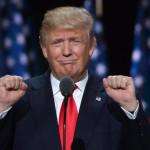 19/07/2016 Cleveland. Convention repubblicana per la proclamazione del candidato repubblicano alle elezioni presidenziali USA. Nella foto Donald Trump